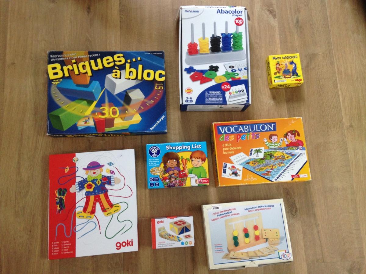 Mes 8 jeux éducatifs préférés pour les enfants de 3 à 6 ans