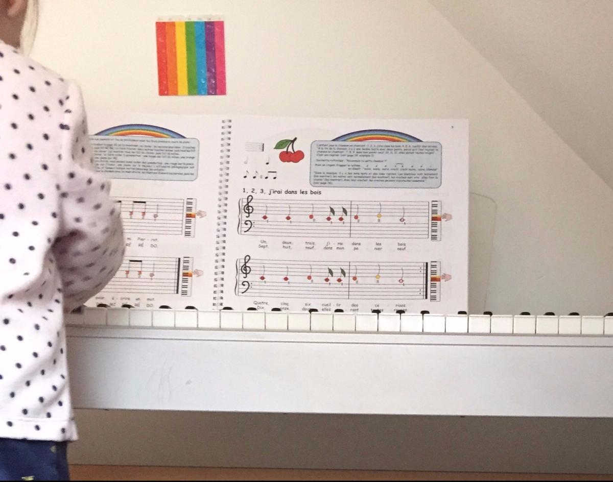 Débuter le piano avec un enfant de 3 à 7 ans