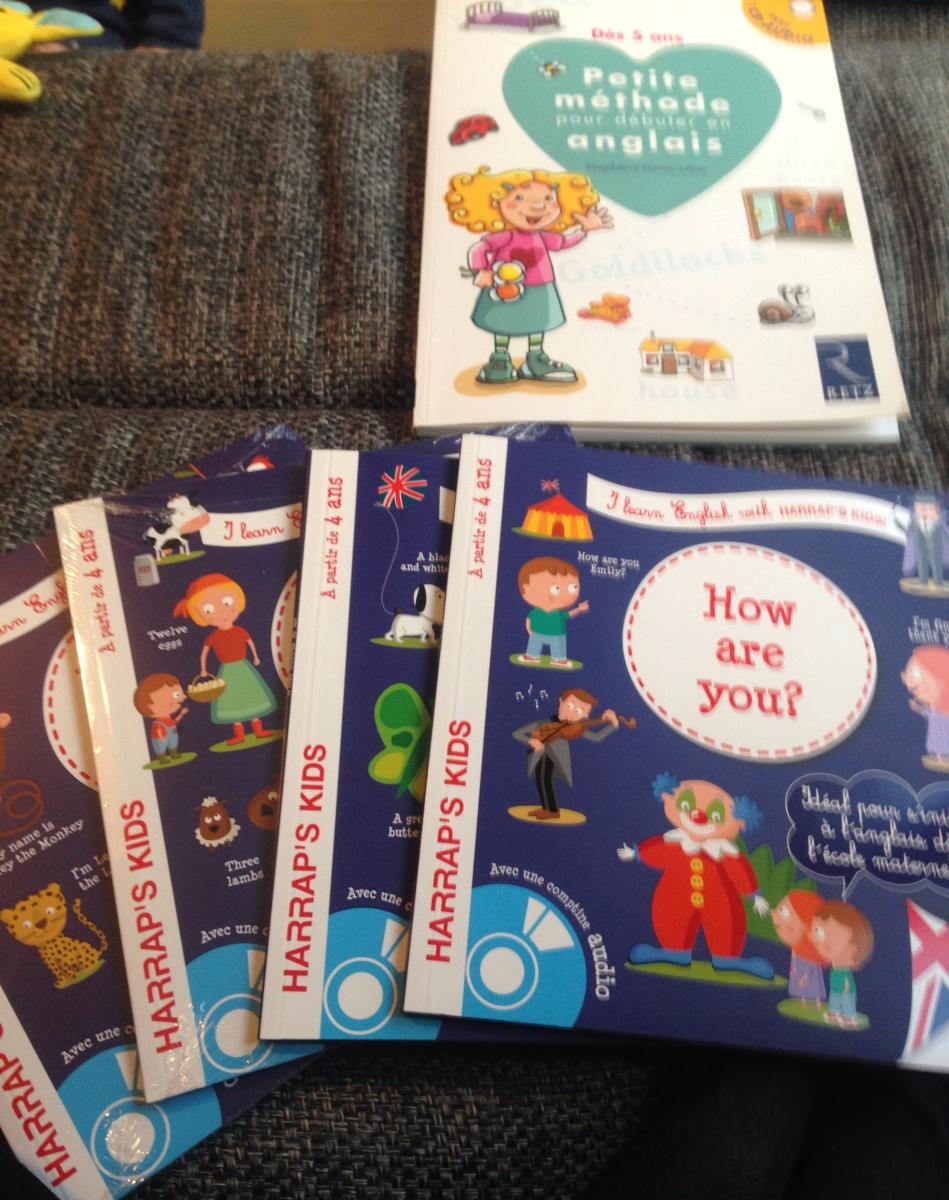 Débuter l'anglais avec un enfant de 2 à 5 ans
